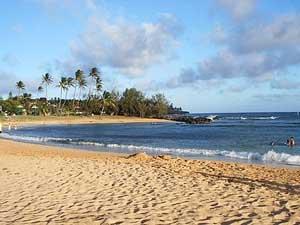 Foto de una playa de arena