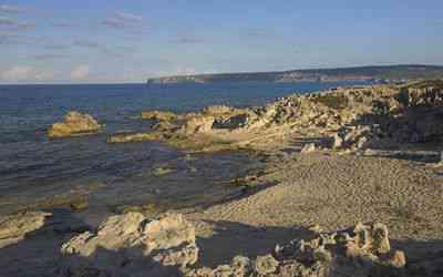 Playa platja de ses canyes en formentera informaci n for Oficina turismo formentera