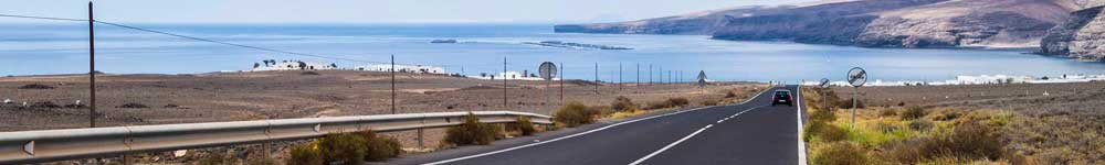 Carretera y playa